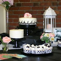 Wedding Shower Lemon cake, Strawberry cake & lemon filled cupcakes