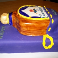 Crown Royal Cake Crown Royal Cake for my dads 60th!