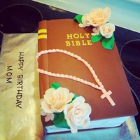 Bible Cake For A Client For Her Mother Bible cake for a client for her mother