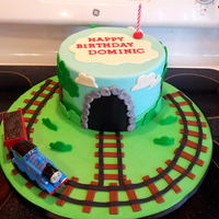 Thomas The Train Birthday Cake Thomas the Train birthday cake