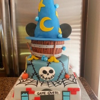 Disney Infinity Inspired Cake Disney Infinity Inspired cake. Wreck it Ralph, Nighmare Before Christmas, & Fantasia.