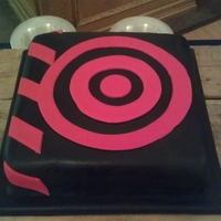 U2 - How To Dismantle An Atomic Bomb Groom's cake for a U2 fan! Chocolate cake filled with kahlua neoclassic buttercream
