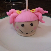 Lalaloopsy Cake Pops   These are super cute.
