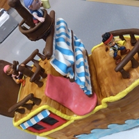 Jack And The Neverland Pirates Cake