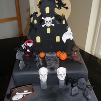 Halloween Cake I Made Last Year I Loved The Large Skull Moulds Diamond Paste As There Was So Much Detail Dracula From A Book By Frances Halloween cake I made last year. I loved the large skull moulds (Diamond Paste) as there was so much detail. Dracula from a book by Frances...