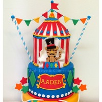 Circus Cake Recreation Recreated by Veronica with permission from the original designer, Couture di Sucre