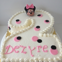 Minnie Mouse #2 Cake