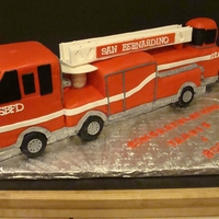 Ladder Fire Truck