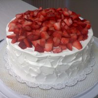 Strawberry Cake Simply delicious.