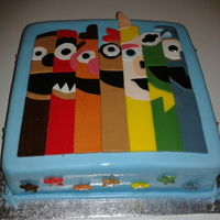 Muppets Cake For A Grown Up Fan Muppets cake for a grown up fan!