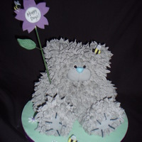 Mums Tatty Teddy Retirement Cake That She Was Reluctant To Cut Mum's Tatty Teddy retirement cake that she was reluctant to cut!