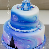Cinderella Cake Magical cinderella cake for a little princess!