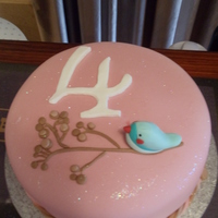 Bird Cake The lady I made this for, gave a pic she designed which she wanted copied on the cake. this is what i came up with. colours &...