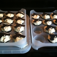 Glock Cupcakes   These are for a target shooting class.