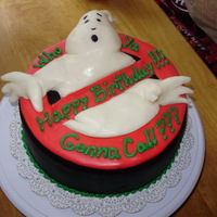 Who You Gonna Call? Ghostbusters cake