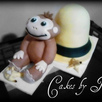 3D Curious George Cake My first Curious George cake. It doesn't really look like him. But at least it looks like a monkey! lol