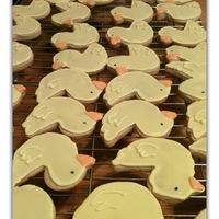 Duckie Cookies   Rubber Duckie cookies