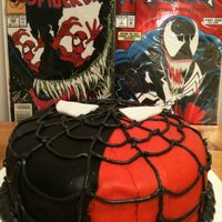 Spiderman Cake Spiderman vs Venom