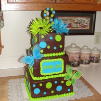 1315160266.jpg   vanilla mocha cake which I ty dyed with chocolate buttercream icing and fondant accents