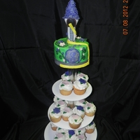 Tangled Themed Cake