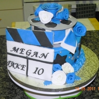 Movie Theme Cake Made for my son's teacher's daughter