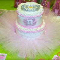 Princess Cake Princess baby shower cake
