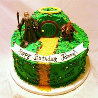 Hobbit Cottage Birthday Cake Hobbit Cottage birthday cake