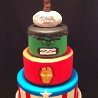 Avengers Superhero Birthday Cake Avengers Superhero birthday cake