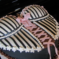 Bridal Bustier my first bustier cake