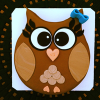 Owl Always Love My Bestie! My best girlfriend loves owls, (and has since way before they became trendy). So I surprised her with this cake for her birthday. She loved...