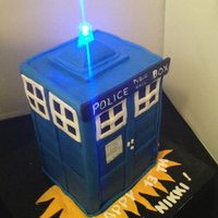 Dr Who Cake Dr. Who Cake!