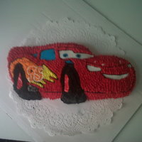 First Character Cake Sorry about the pic being so cloudy it was taken out with my phone
