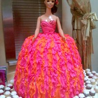 My Size Barbie Quinceanera Cake This is a my size Barbie Quinceanera cake I did this past weekend. The cake itself is two feet tall, with alternating layers of chocolate,...