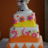 Whimsicle Wedding Cake