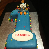 Number 1 Hoot Cake