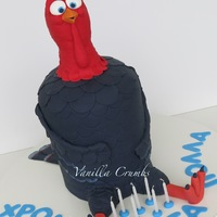 Jake The Turkey From The Movie Free Birds The Body Is Cake The Head Rkt And The Whole Thing Was About 40 Cm High Jake the Turkey from the movie Free BirdsThe body is cake, the head RKT and the whole thing was about 40 cm high.