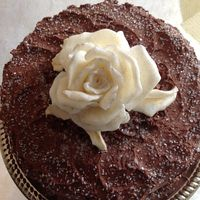 Queen Anne's Lace Cakes For Anniversaries Chocolate Rose Cake by Queen Anne's Lace Cakes