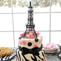 Paris Gone Wild I can not take credit for this design. The customer sent me a picture of a cake that she adored and asked me to amend it by changing out...