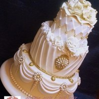 Bling Bling Over The Top 3 Tier Wedding Cake Bling Bling 'Over the Top' 3-tier wedding cake