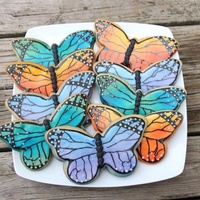 Beautiful Butterfly Cookies   Beautiful butterfly cookies