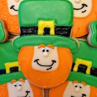 Happy Leprechaun Cookies Happy Leprechaun Cookies