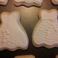 Wedding Themed Sugar Cookies *