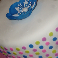 Polka Dot Cake I made this cake to try out my new Americolor gels. I'm in love! I always hated know muted and pastel my Wilton colors came out. Not...