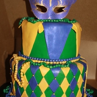 Mardi Gras Themed Bridal Shower