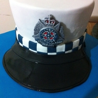Victoria Police Hat Cake