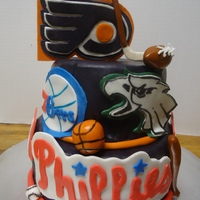 Philadelphia Sports I'm an avid Philly sports fan and this was probably my favorite cake that I've ever done! haha. Would love some feedback from...