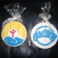 Cookies For A Cause The company I work for was hosting a bake sale to raise funds for a non-profit organization. So I decided to make the logos of both, the...