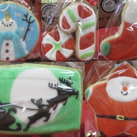 2011 Christmas Cookies These are the designs I did for this christmas. I had fun making them for family and friends! NFSC with RI. TFL!!