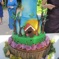 Wedding Cake For A Natureenvironmental Theme Directly Inspired By Withloveandconfections Creation Thank You For Your Help Vanilla Ca Wedding Cake for a nature/environmental theme. Directly inspired by WithLoveAndConfections creation! Thank you for your help. Vanilla cake...