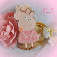 Peppa Pig Cookie   Peppa Pig cookie